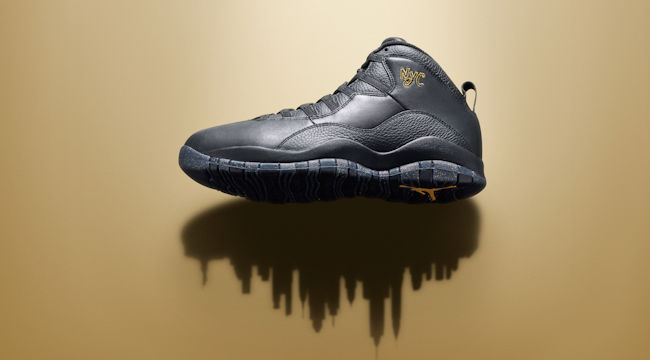 The Air Jordan 10 'NYC' Continues The City PackLegacy
