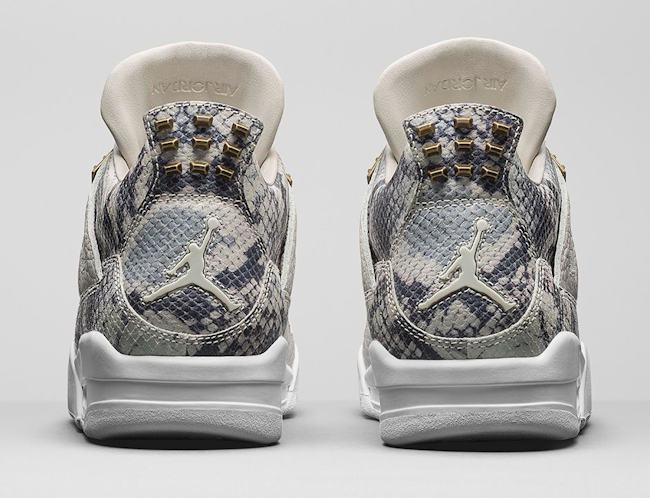Air Jordan 4 Retro Premium Light Bone 3