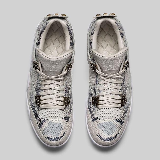 Air Jordan 4 Retro Premium Light Bone 4